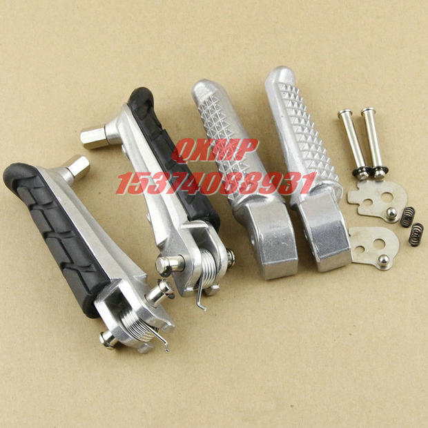 Motorcycle Front Rear Footrests Foot pegs For Honda CB400 Superfour VTEC 1 4 CB250 CB600 CB900