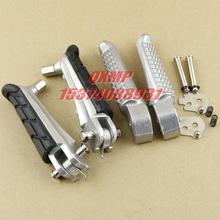 Motorcycle Front / Rear Footrests Foot pegs For Honda CB400 Superfour VTEC 1-4 CB250 CB600 CB900 Hornet 250 600 900 CB1300