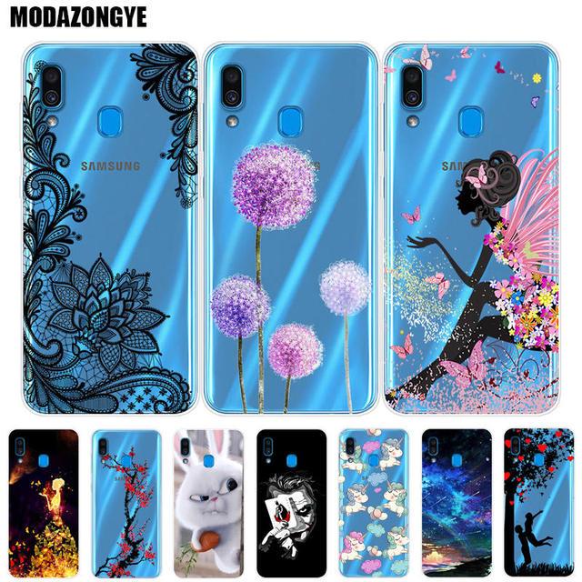cheaper 2077b f1dde Case For Samsung Galaxy A20 Phone Case Samsung A20 Cover Samsung Galaxy A20  A 20 SM-A205F A205F A205 Case Silicone Soft TPU