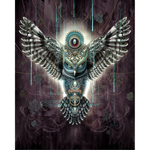5D DIY Diamond Painting Full Square Drill owl Embroidery Cross Stitch gift Home Decor Gift H784