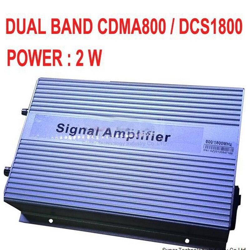 High Gain 3000 Sq Meters 2W CDMA 800 DCS 1800MHZ DUAL BANDS BOOSTER CDMA+DCS Repeater,3G Mhz Booster,DCS Repeater,Free EMS