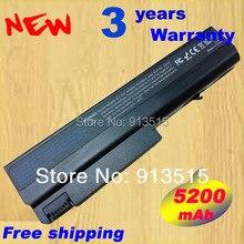 5200 мАч ноутбука Батарея для hp compaq nc6120 nc6140 NC6200 NC6220 nc6230 Nc6300 nc6320 nc6400 NX5100 nx6105 nx6110 nx6110/ ct