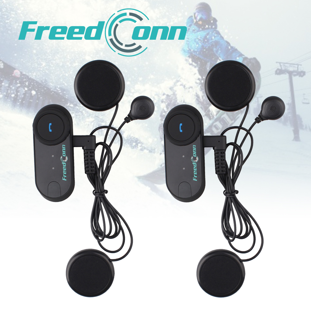 2 Pcs Motorcycle Helmet Bluetooth Headset Intercom For 3 Rider 800M Intercomunicadores De Motos+Soft Earphone+FM Radio