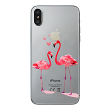 Phone Case For Apple iPhone X Cute Cats Flamingo Dreamcatcher