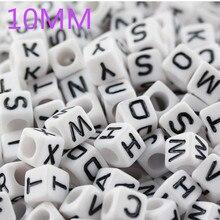 Free Shipping!Wholesale Alphabet /Letter E Acrylic Cube Beads,DIY Beads 6x6mm 617