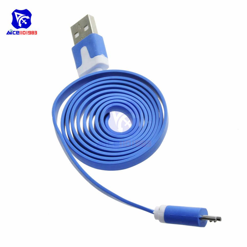 1 メートル 3.3ft マイクロ usb 充電ケーブル wemos ためのランダムな色 D1 wemos D1 ミニ nodemcu arduino