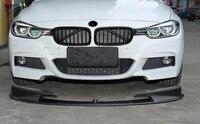 Auto In Fibra di Carbonio Paraurti Anteriore Spoiler  auto Car Anteriore Copertura Diffusore Per BMW F30 F35 M3 320 328 330 2012 2019-in Paraurti da Automobili e motocicli su