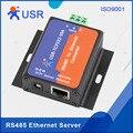 USR-TCP232-304 RS485 к Ethernet серверу последовательный к TCP/IP модуль конвертера со встроенной веб-страницей DHCP/DNS HTTPD поддерживается Q061