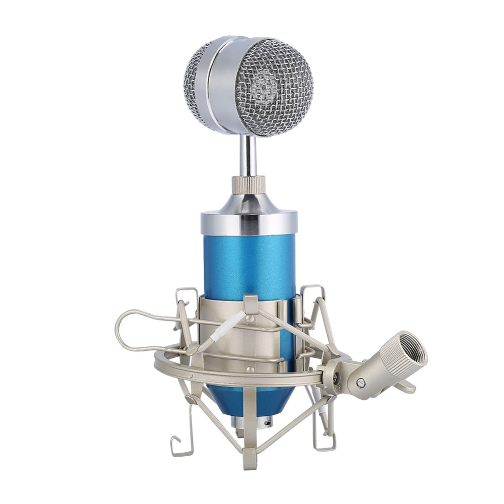 US $15.74 26% OFF|BM 8000 Condenser Microphone Professional Wired Studio Mic BM8000 With Shock Mount Pop Filter For Karaoke Computer Laptop KTV-in Microphones from Consumer Electronics on Aliexpress.com | Alibaba Group