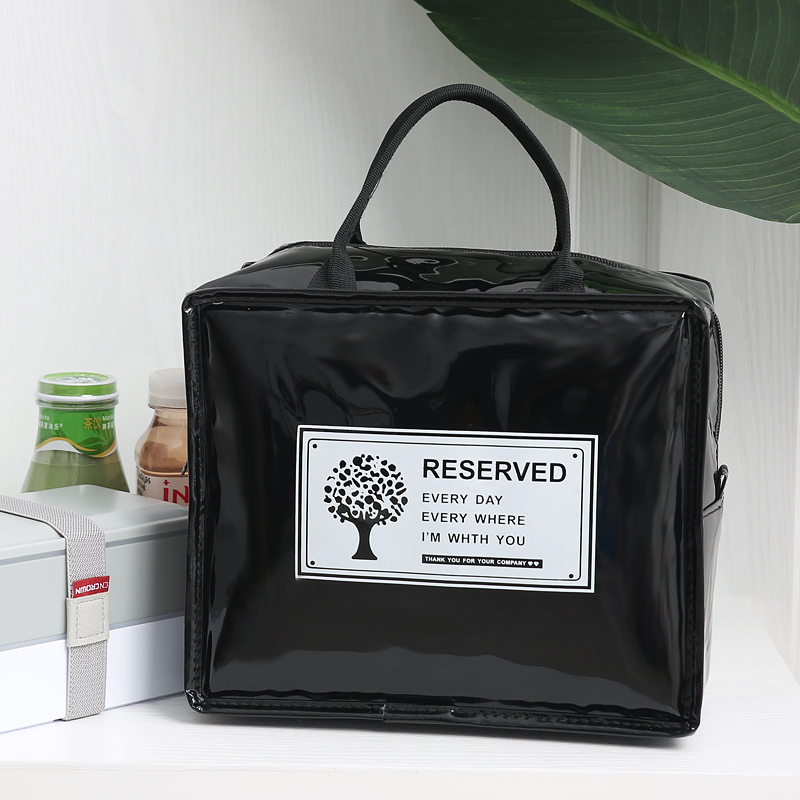 Unisexe Men Women Canvas Insulated Lunch Box Carry Bag Cooler morts Picnic 4 Color