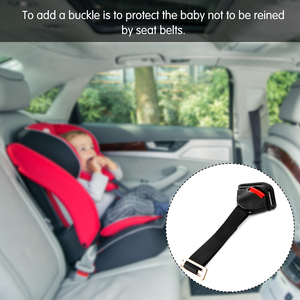 Image 5 - TiOODRE Black Car Baby Safety Seat Clip Fixed Lock Buckle Safe Belt Strap Child Clip Buckle Latch Car Seat Strap Belt Strong
