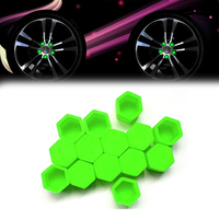Car styling 20pcs silica gel green wheel nuts covers protective bolt caps hub screw protector 17.jpg 200x200
