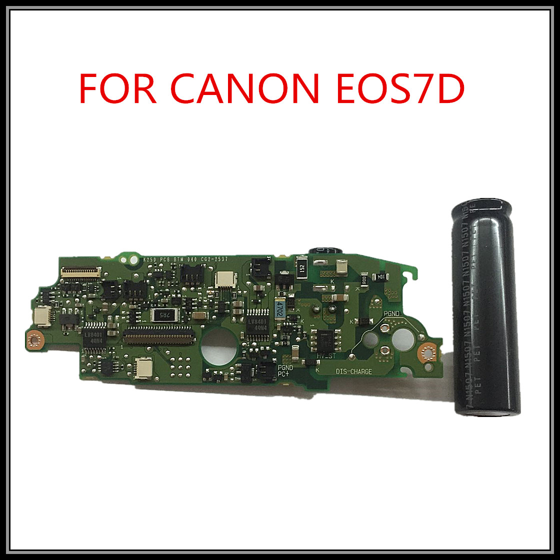 Free Shipping !!100% New Original for canon EOS 7D flash board for Canon 7D driver board free shipping original 100% tested working fp222w driver board q22w6 board fp222w board of 4h 03v01 a00 signal