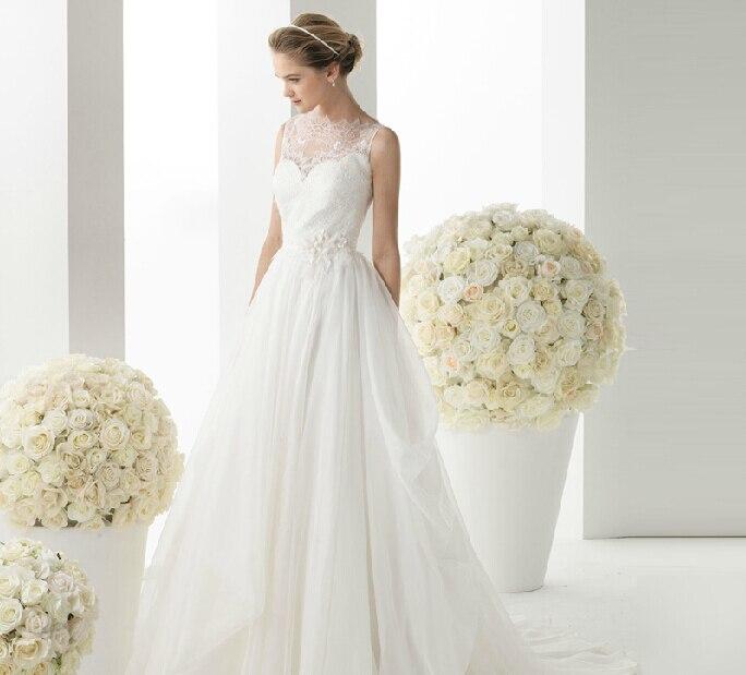 Aliexpress.com : Buy Luxury French Style Wedding Dress Romantic ...