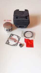 Image 1 - 58cc Chainsaw cylinder and piston full set 5800 Chain saw cylinder kit cylinder dia 45.2mm