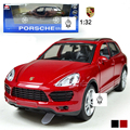 NEW 1/32 cayenne alloy toy car model the acousto-optic 1:32 children back to car gift boxes