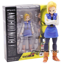Dragon Ball Z S.H.Figuarts SHF Exclusive Action Figure Toy – Android NO.18