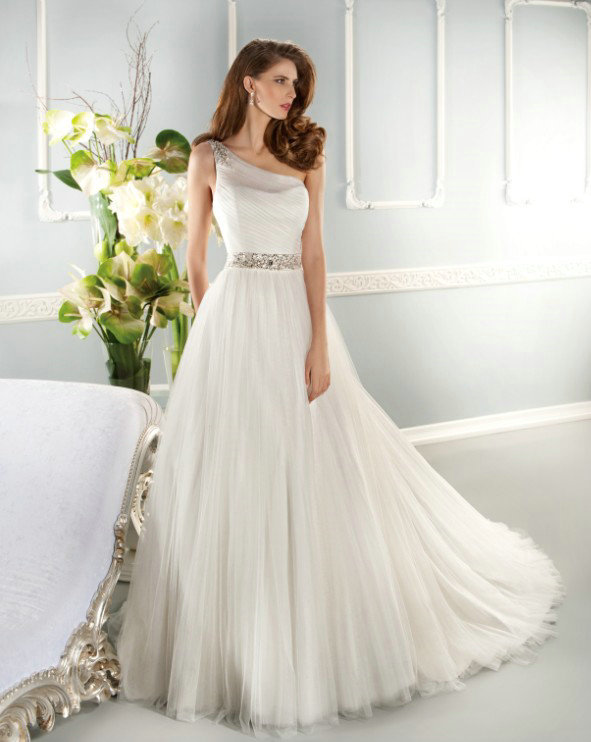 Wedding Reception Dresses Evening With Sleeves Formal Beach Style A Line Floor Length Court Train Beading Sco 2017 Free Shipping In From