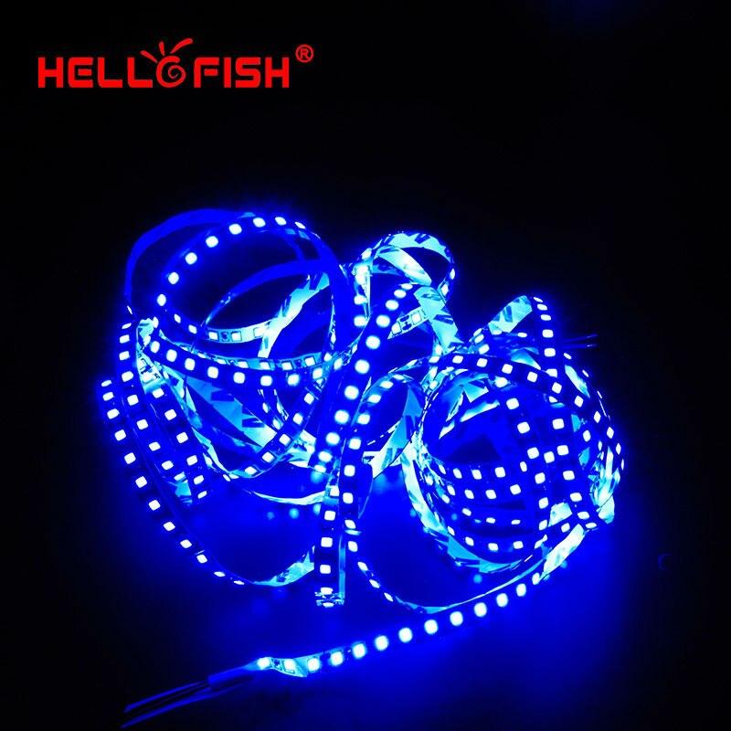 Hello Fish 5M 2835 600 SMD LED sloksne 12V elastīga120 LED gaismas - LED Apgaismojums - Foto 6
