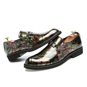 Image 3 - ZIMNIEยี่ห้อสิทธิบัตรหนังOxfordรองเท้าสำหรับชายอย่างเป็นทางการผู้ชายรองเท้าPointed Toeธุรกิจรองเท้าแต่งงานขนาด38 ~ 46