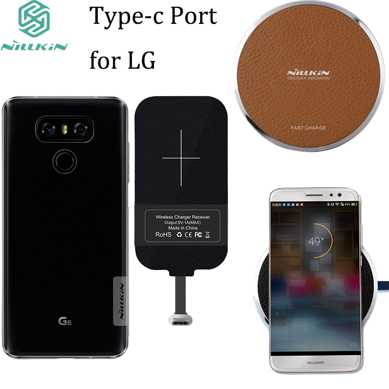 For LG G6 V20 Transparent Clear TPU Case / Nillkin Fast