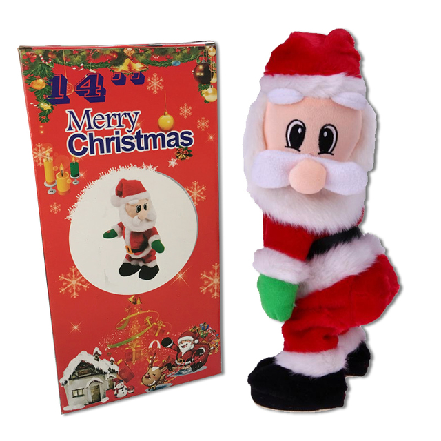 birthday gift for kids christmas electric toy dance singing with sound toys santa claus christmas toys - Singing Christmas Toys