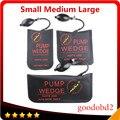Black KLOM PUMP WEDGE Airbag Diagnostic Tools New Universal Air Wedge LOCKSMITH TOOLS Lock Pick Set Door Lock Opener 3pcs S/M/L