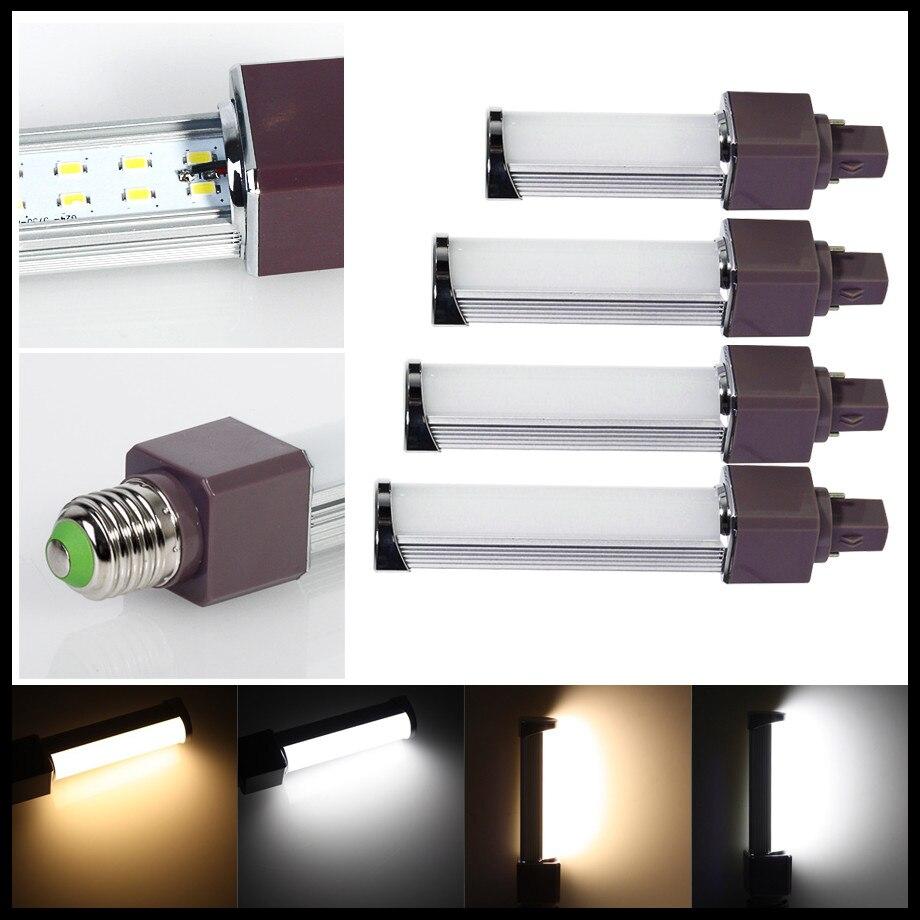 E27 G24 8W 14W LED Corn Lights Horizontal Plug SMD5730 180 degeree AC85-265V LED Lamp Bulb Free Shipping free shipping led corn bulb e27 g24 smd5050 led light 180 degeree ac85 265v 9w 12w 13w 15w 16w led horizontal plug lamp