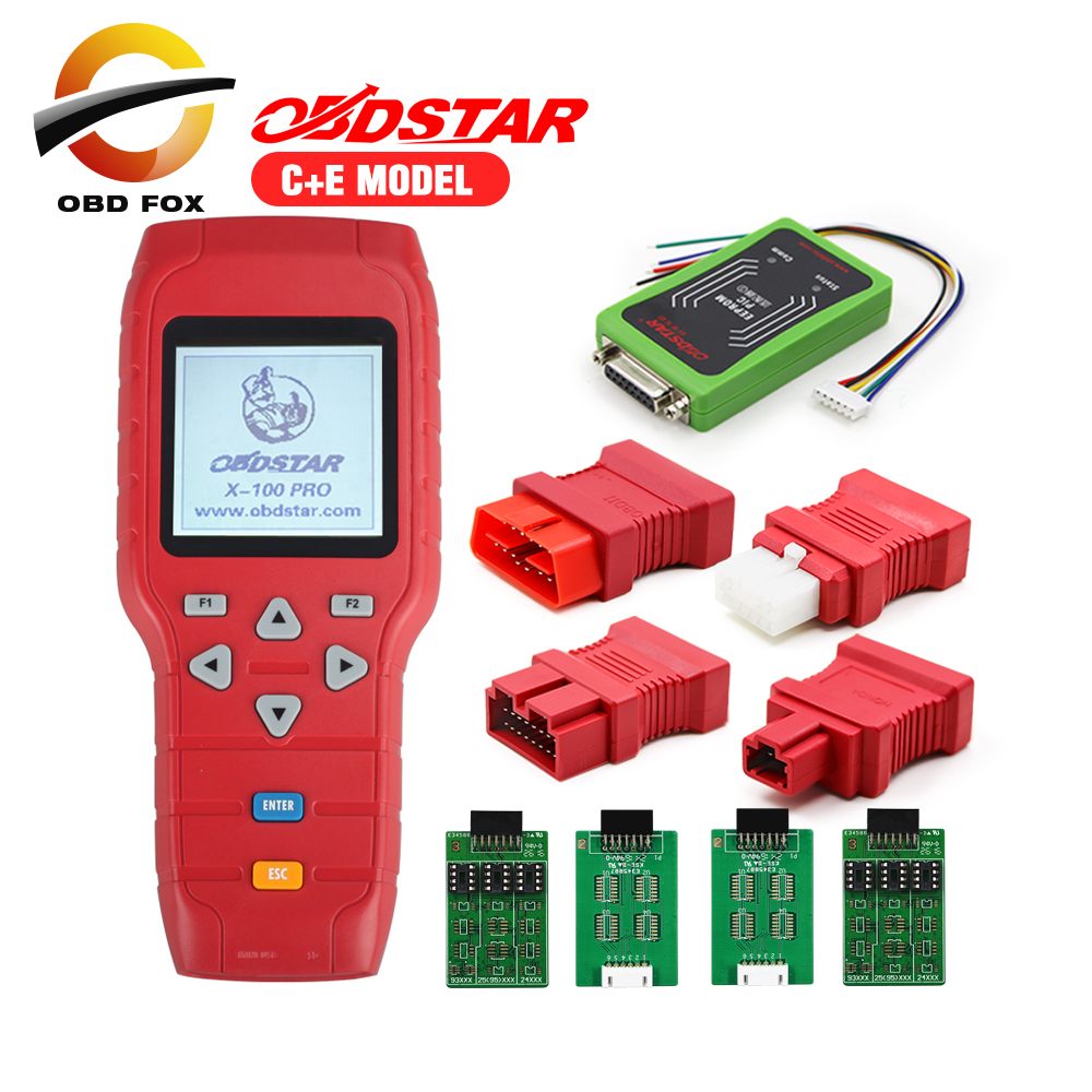 2018 New designed OBDStar Auto Key Programmer X100 PRO C E model Including X200 Scanner Function