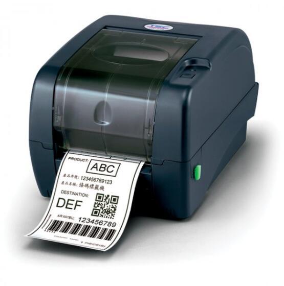 Original Brand New TSC TTP-247 SERIES High Performance Desktop Thermal Transfer & Direct Thermal Label Barcode Printer 203dpi