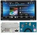 G1 Alta Calidad Doble 6.95 pulgadas 2DIN En El Tablero de Coches Reproductor de DVD GPS Navi Bluetooth Auto Estéreo Radio de Coche styling Accesorios