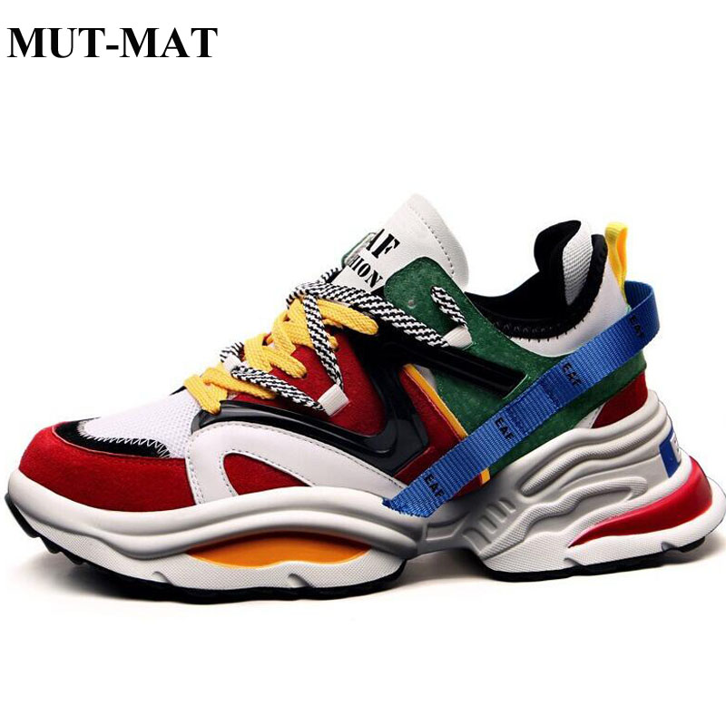 2019 New Men Fashion Casual Shoes Sneakers Spring High Top T