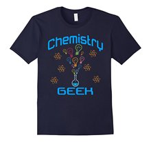 2017 New Fashion Summer Style Chemistry Geek Lab Science Beaker T shirt Print T Shirt Men's Clothing