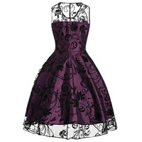 Sisjuly 2017 Summer Gothic Female Party Dress Goth Red Sexy Dresses Hollow Out A Line Green