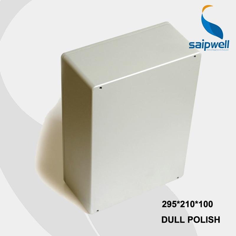 цена на 295*210*100mm Size Industrial Waterproof Aluminium Box Enclosure With CE,ROHS (SP-FA68)