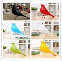 Nordic Pigeon Emines Birds Family Decoration Simple Decoration Gift Bird Sculpture Bedroom Decor Northern Europe Style