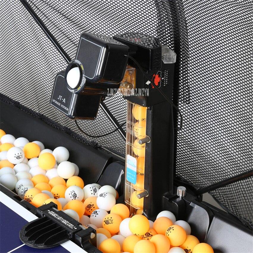 1 pc JT-A Tennis De Table Robots Balle Machines automatique balle machine 36 tours maison pratiquer machine Avec un net couverture 100-240 v