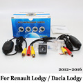 For Renault Lodgy / For Dacia Lodgy 2012~2016 / RCA Wired Or Wireless / CCD Night Vision / Rear View Camera / HD Wide Lens Angle