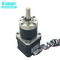 Bringsmart PG36 42BY DC Worm Stepper Geared Motors Stepping Planetary Gear Motor High Torque Reduction Ratio Mini Gearbox