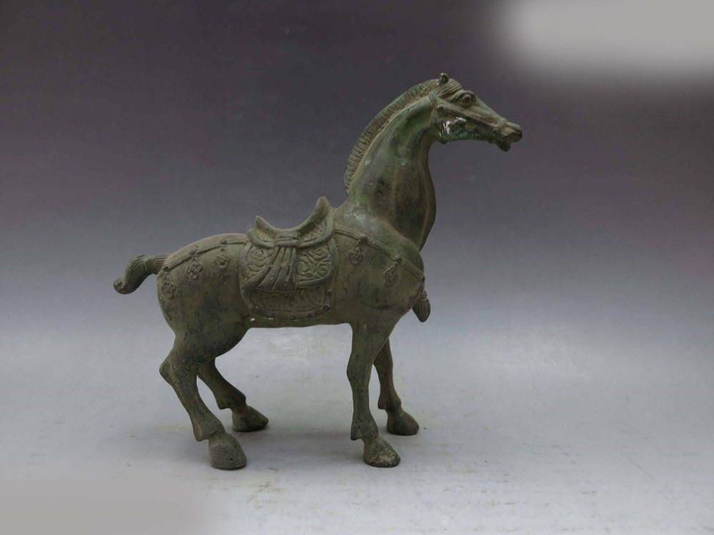 DS China bronze copper carved fine Beautiful Horse Sculpture StatueDS China bronze copper carved fine Beautiful Horse Sculpture Statue