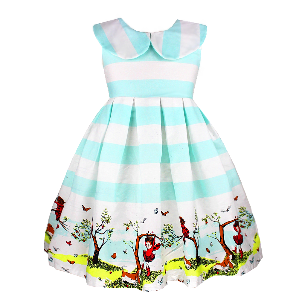 Girl Dress Party Girls Frock Designs 2-10 Years Ok051016 - Shop333832 Store store