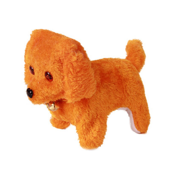 New-Electronic-Dog-Toy-Battery-Powered-Steel-Blue-Plush-Walking-Barking-Electronic-Pets-Dog-Toys-Brown-Yellow-Pink-2