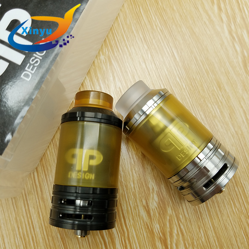 NEWEST Fatality RTA 8ml capacity 28mm Replaceable Tank Atomizer Multi Coil Configuration Adjustable Quad Airflow 810 Drip Tip