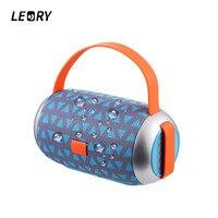 LEORY New Arrival Portable Speaker Wireless Bluetooth Outdoor Speaker 1200mah Waterproof Stereo Music Speaker FM Radio