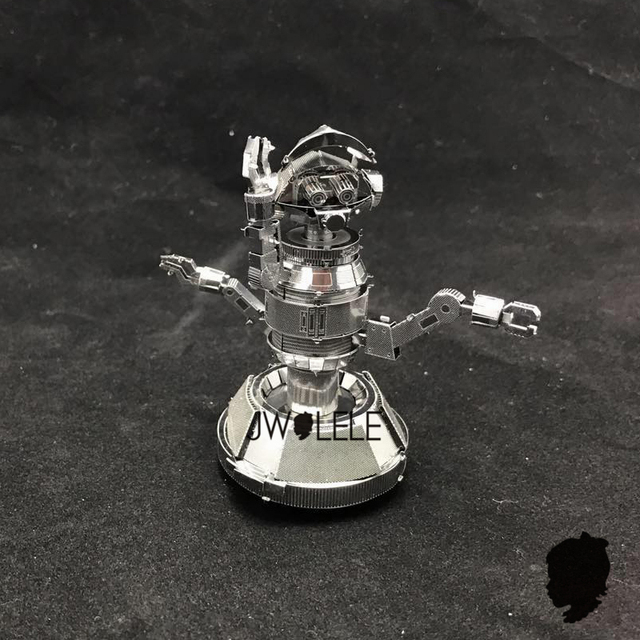 NEW Pilot Droid 2 sheets STAR WARS 3D Metal Model Assemblingd Puzzle DIY Stainless Steel Creative Desktop decoration Souptoys