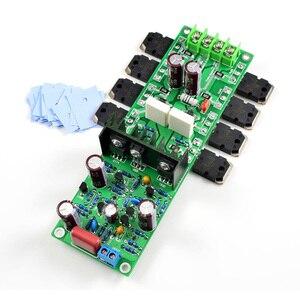 Image 3 - Lusya 2 canaux L20.5 250W * 2 amplificateur de Puissance Audio HIEND Ultra faible Distorsion KEC KTB817 bricolage KITs