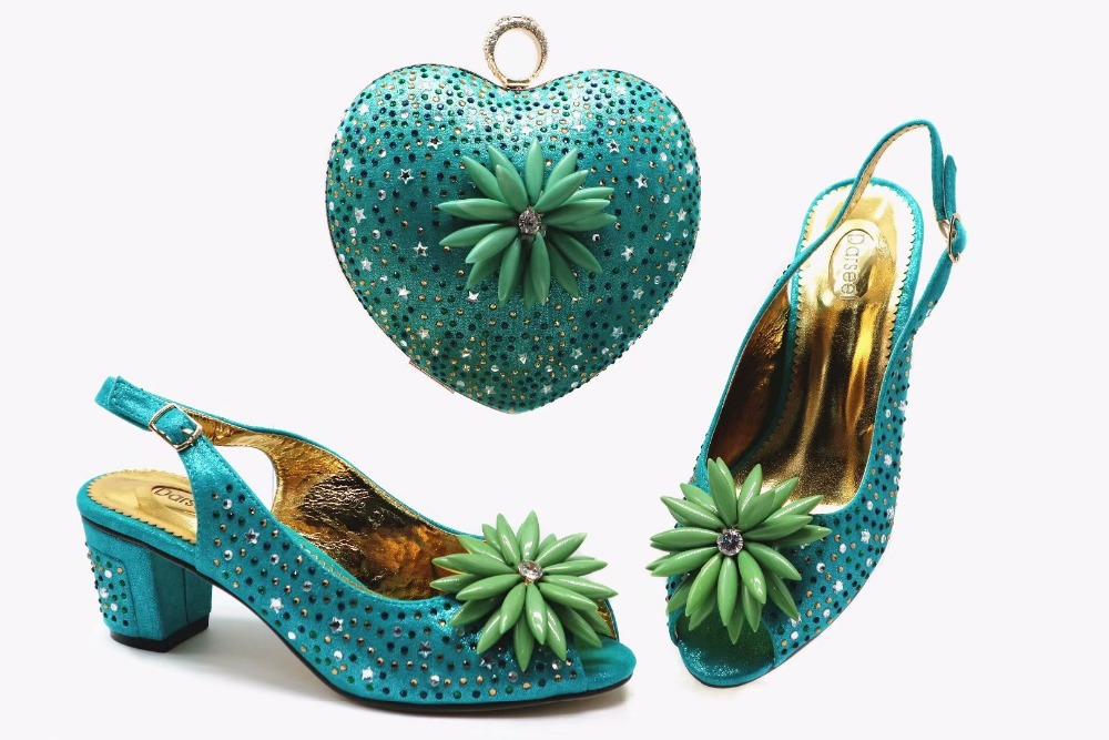 b44f5703d0 Low heel sandal shoes match clutches bag italina shoes and bag matching set  for african aso ebi size 38 to 42 shoes bag SB8337-4