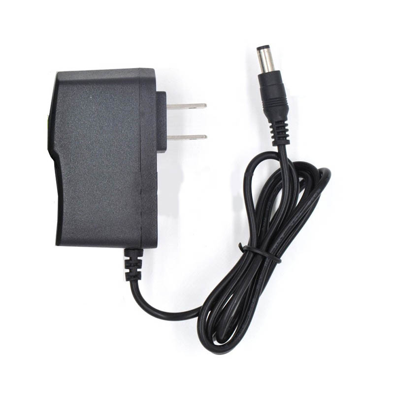<font><b>DC</b></font> 9V1A <font><b>9</b></font> <font><b>V</b></font> 1A Power Supply <font><b>AC</b></font> 100V-240V Converter Adapter US Plug Charger 5.5mmx 2.5mm 1000mA for Electronics led strip DA image