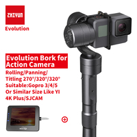 Zhiyun Z1 EVOLUTION 3 Axis Gimbal Action Camera Handheld Stabilizer Sport Camera Steadycam For Gopro Hero
