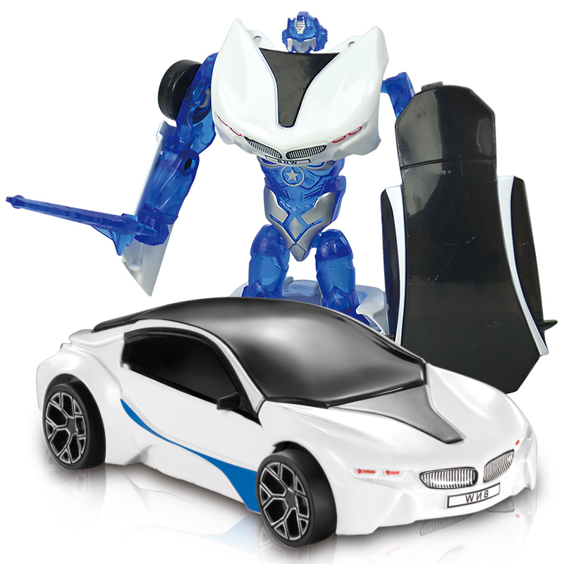 New Mini 1:43 Transformation Alloy deformation models Robot Cars Action Toy action figure Kids Education Toys anime figure Gifts dinosaur transformation plastic robot car action figure fighting vehicle with sound and led light toy model gifts for boy